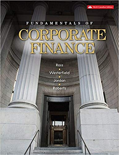 solution manual for Fundamentals Of Corporate Finance 9th Canadian Edition的图片 1