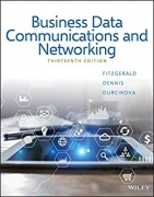 solution manual for Business Data Communications and Networking 13th Edition