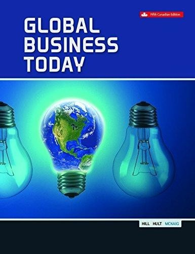 test bank for Global Business Today 5th Canadian Edition的图片 1