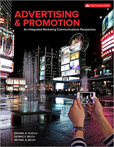 test bank for Advertising and Promotion: An Integrated Marketing Communications Perspective 6th canadian edition的图片 1