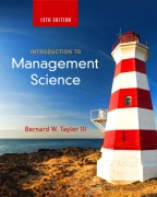 solution manual for Introduction To Management Science 12th Edition