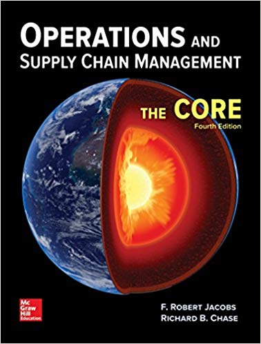 test bank for Operations and Supply Chain Management: The Core 4th Edition的图片 1