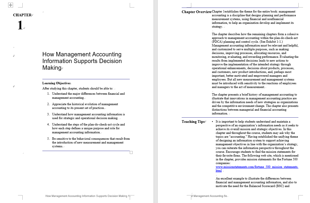 solution manual for Management Accounting: Information for Decision-Making and Strategy Execution 6th Edition的图片 3