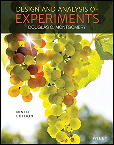 solution manual for Design and Analysis of Experiments 9th Edition的图片 1