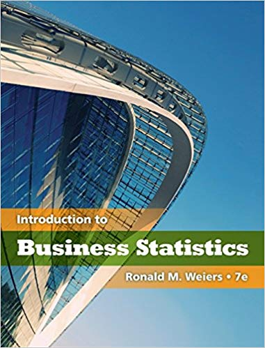 solution manual for Introduction to Business Statistics 7th Edition的图片 1