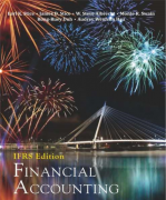 solution manual for Financial Accounting: IFRS Edition 1st Edition
