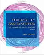 solution manual for Probability and Statistics for Engineering and the Sciences 9th Edition
