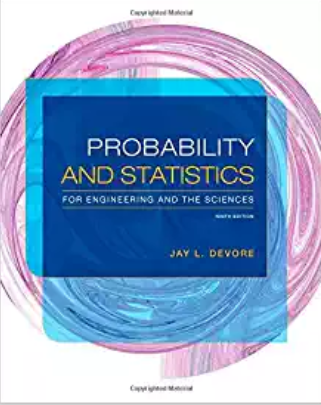 solution manual for Probability and Statistics for Engineering and the Sciences 9th Edition的图片 1