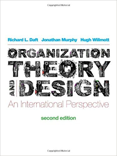 solution manual for Organization Theory and Design: An International Perspective 2nd edition的图片 1