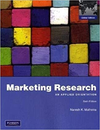 test bank for Marketing Research: An Applied Orientation 6th Global Edition的图片 1
