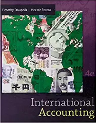 test bank for International Accounting 4th Edition by Timothy Doupnik的图片 1