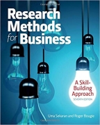 test bank for Research Methods For Business: A Skill Building Approach 7th Edition