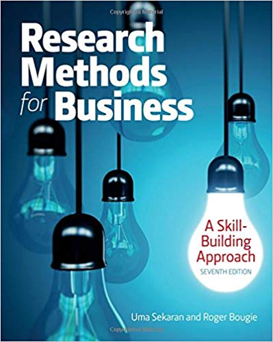test bank for Research Methods For Business: A Skill Building Approach 7th Edition的图片 1