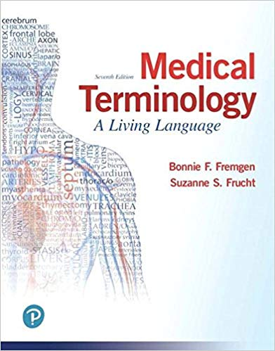 test bank for Medical Terminology: A Living Language 7th Edition的图片 1