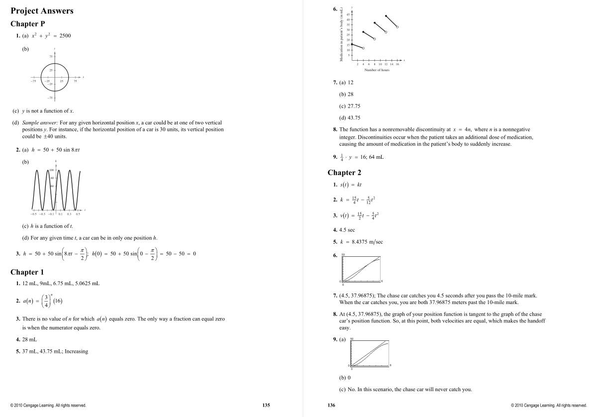 solution manual for Calculus 10th Edition by Ron Larson的图片 3