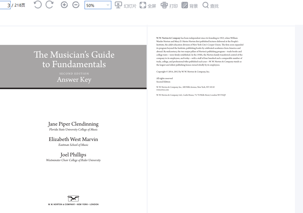 solution manual for The Musician's Guide to Fundamentals 2nd Edition的图片 2