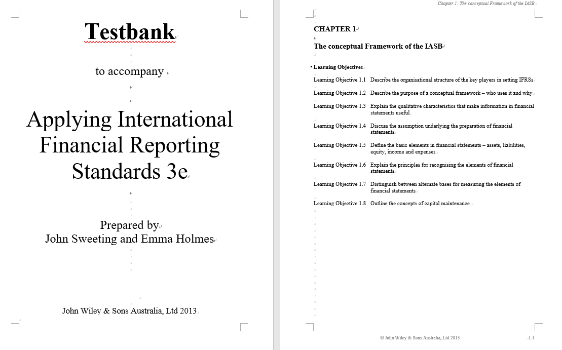 test bank for Applying International Financial Reporting Standards 3rd Edition的图片 3
