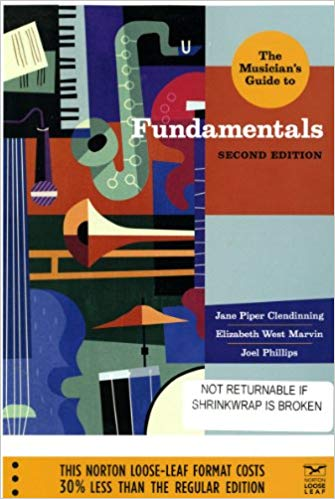 solution manual for The Musician's Guide to Fundamentals 2nd Edition的图片 1