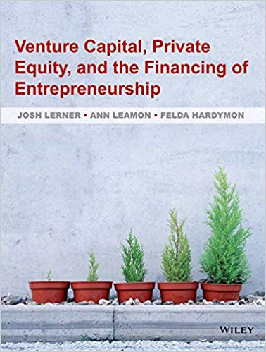 solution manual for Venture Capital, Private Equity, and the Financing of Entrepreneurship 1st Edition的图片 1