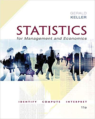 test bank for Statistics for Management and Economics 11th Edition by Gerald Keller的图片 1