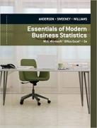 solution manual for Essentials of Modern Business Statistics with Microsoft Excel 5th Edition