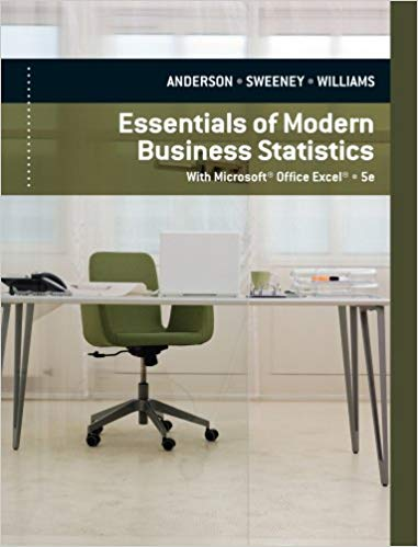 test bank for Essentials of Modern Business Statistics with Microsoft Excel 5th Edition的图片 1