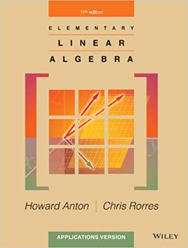 test bank for Elementary Linear Algebra: Applications Version, 11th Edition的图片 1