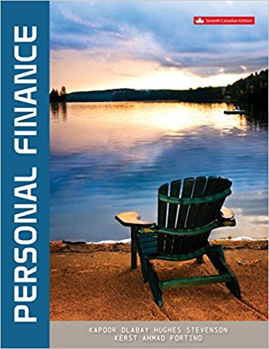 test bank for Personal Finance 7th Canadian Edition by Jack Kapoor的图片 1