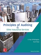 test bank for Principles of Auditing & Other Assurance Services 21st Edition