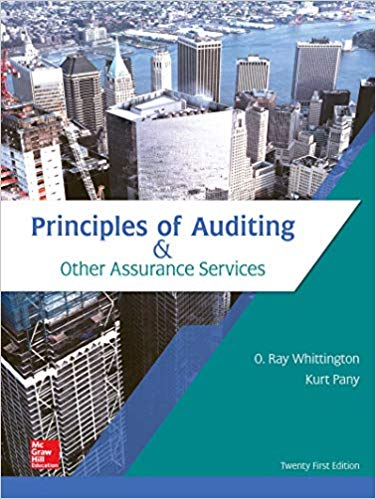 test bank for Principles of Auditing & Other Assurance Services 21st Edition的图片 1