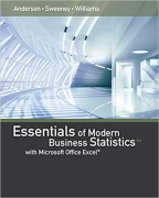 test bank for Essentials of Modern Business Statistics with Microsoft Excel 6th Edition