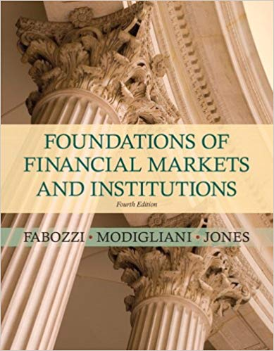 test bank for Foundations of Financial Markets and Institutions 4th Edition的图片 1