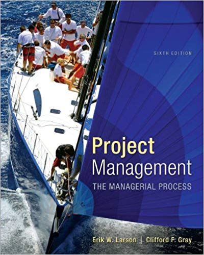 solution manual for Project Management: The Managerial Process with MS Project 6th Edition的图片 1