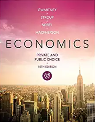 test bank for Economics: Private and Public Choice 15th Edition的图片 1