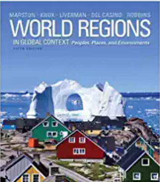 test bank for World Regions in Global Context: Peoples, Places, and Environments 5th Edition的图片 1