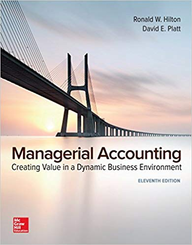 test bank for Managerial Accounting: Creating Value in a Dynamic Business Environment 11th Edition的图片 1