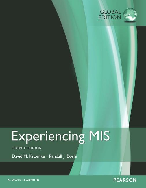 solution manual for Experiencing MIS 7th Global Edition的图片 1