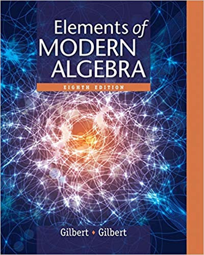 solution manual for Elements of Modern Algebra 8th Edition的图片 1