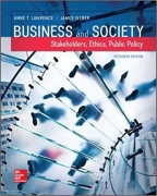 test bank for Business and Society: Stakeholders, Ethics, Public Policy 15th Edition