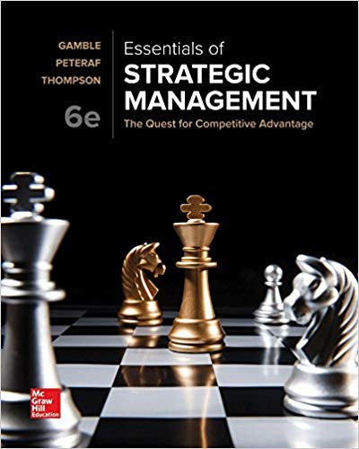 test bank for Essentials of Strategic Management: The Quest for Competitive Advantage 6th Edition的图片 1