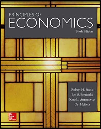 solution manual for Principles of Economics 6th Edition by Robert Frank的图片 1