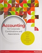 test bank for Accounting for Corporate Combinations and Associations 8th edition