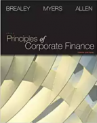 test bank for Principles of Corporate Finance 10th edition by Brealey
