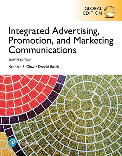 test bank for Integrated Advertising Promotion and Marketing Communications 8th global Edition的图片 1