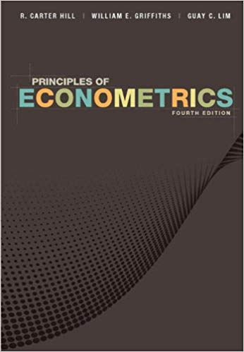 solution manual for Principles of Econometrics 4th Edition的图片 1