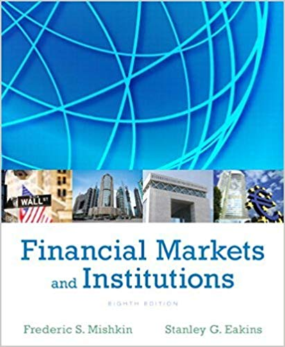 test bank for Financial Markets and Institutions 8th Edition的图片 1