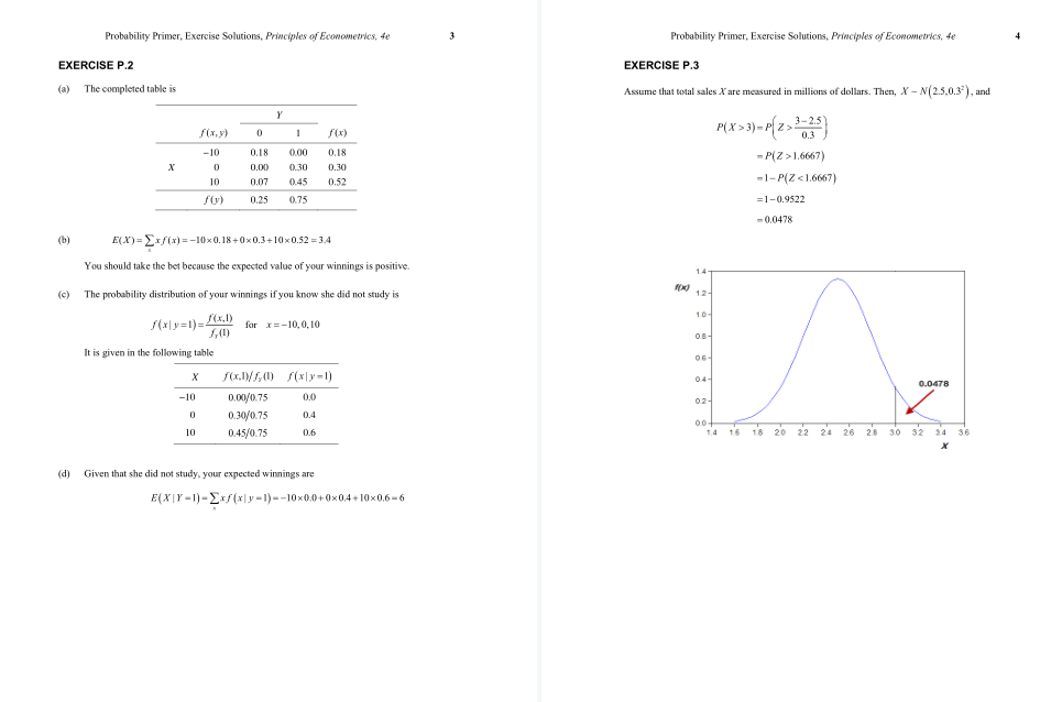 solution manual for Principles of Econometrics 4th Edition的图片 3