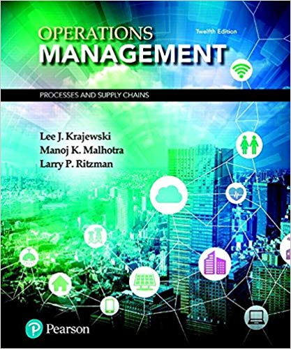 test bank for Operations Management: Processes and Supply Chains 12th Edition的图片 1