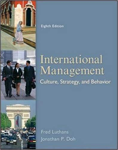 test bank for International Management: Culture, Strategy, and Behavior 8th Edition
