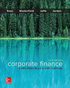 test bank for Corporate Finance: Core Principles and Applications 5th Edition